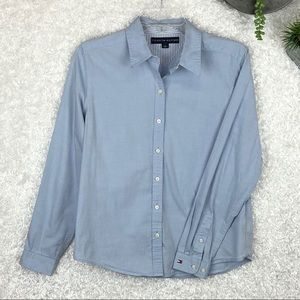 Tommy Hilgifer Chambray Button-Up | M